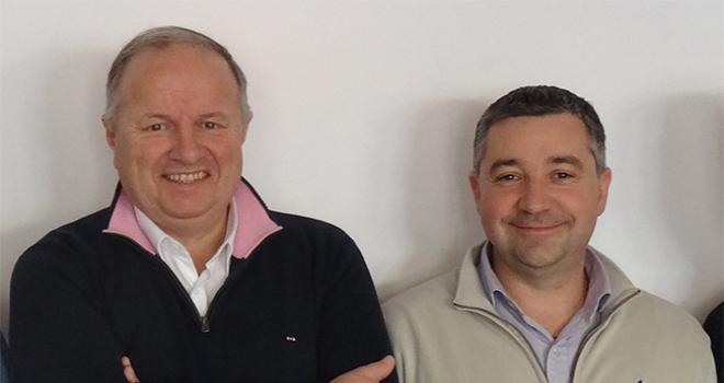 L'organisation du groupe Bernard, dont Xavier Bernard (à gauche) assure la présidence, évolue : Nicolas Meyer (à droite) est nommé directeur des opérations du pôle agricole. Photo : DR
