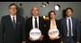Jean-Michel Duhamel (directeur général Europe), Fabien Lemaigre (directeur des ventes et du marketing France, Benelux et Afrique du Nord), Charlotte Jacoud (chargée de marketing) et Danièle Ruccia (responsable des affaires réglementaires)