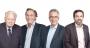 De gauche à droite, Michel Soufflet, président du conseil de surveillance, Jean-Michel Soufflet, président du directoire, Christophe Passelande, directeur général et Grégoire Boyen, directeur général de Soufflet Agriculture. Photo :Groupe Soufflet