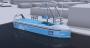 Yara travaille avec Kongsberg afin de réaliser un navire 100 % électrique à usage industriel et commercial. Photo : DR
